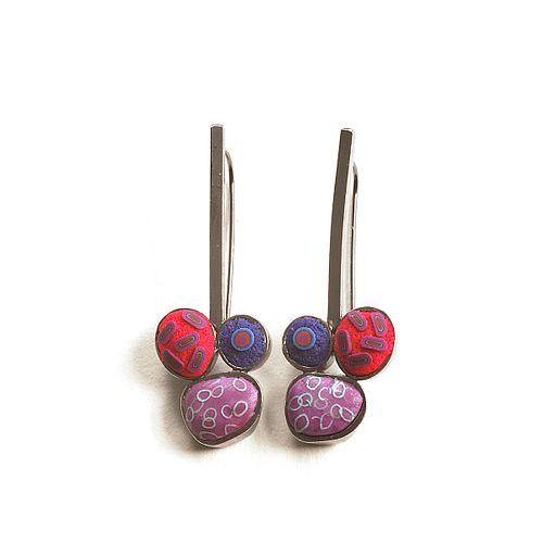Pebble Dangle Earrings #324