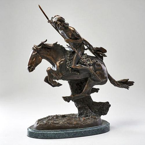 AFTER FREDERIC REMINGTON (1861-1909)