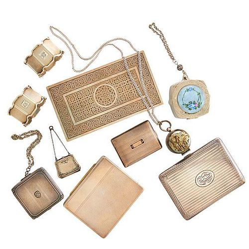 COLLECTION OF ASSORTED SILVER ACCESSORIES