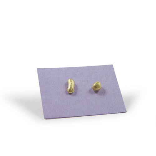 18k Nugget Post Earrings
