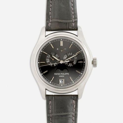Patek Philippe, Annual Calendar Platinum wristwatch, Ref. 5146P-001