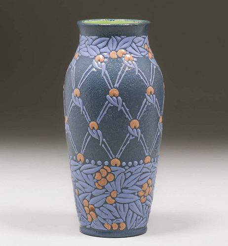 Large Gustafsberg Vase Beata Martensson 1909