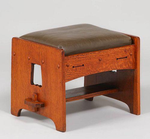 Lakeside Crafts Shop - Sheboygan, WI Cutout Footstool