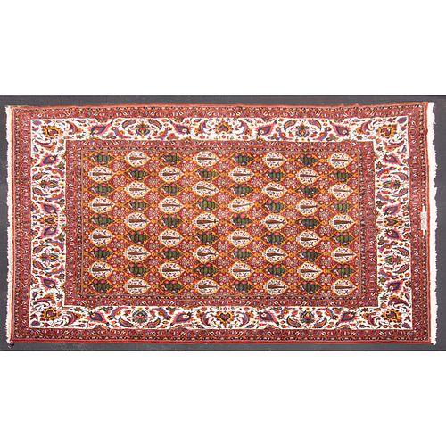 Bahktiari Carpet, Persia, 16.6 x 19.7