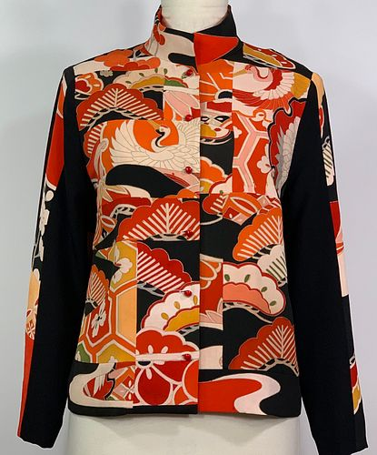 Pines and Cranes Jacket