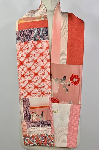 Pink Coral Scarf