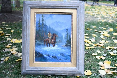 "Gary Lynn Roberts - ""Winter Crossing"""