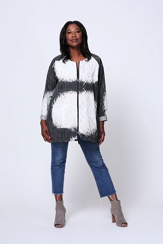 Poplin jacket with gather Small/Medium