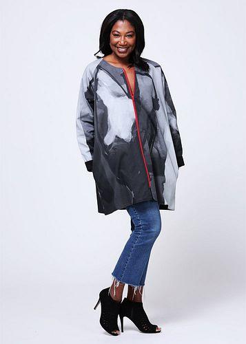 Twill jacket raglan Small/Medium