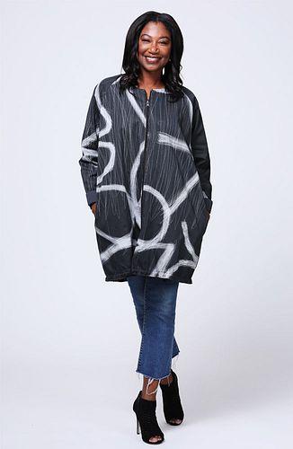 Twill long jacket Small/Medium