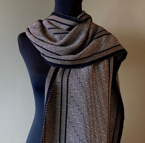 Jazz/Steps Shawl - A similar shawl can be made to order