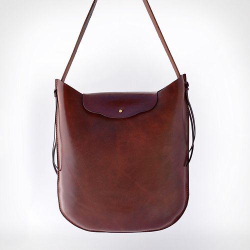 Dark Brown Hobo Bag