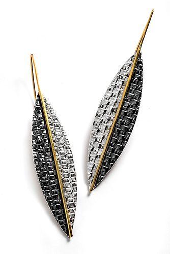 Pointed Leaf Earrings