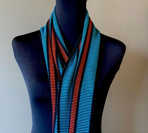 Freeway Scarf- This item has sold but I can make another one identical to this one.