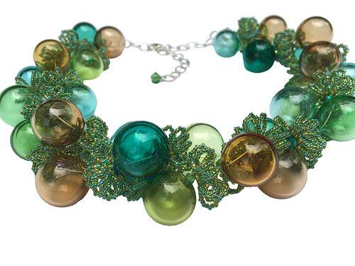 Springtime Bubbles Necklace
