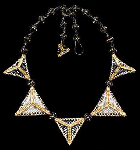 Tri-ridge necklace