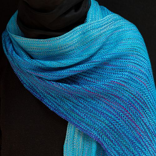 Wrap: Bright Turquoise