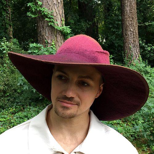 'The Ranger' Hat - Burgundy