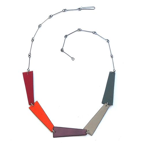 Reversible Five Wedge Necklace