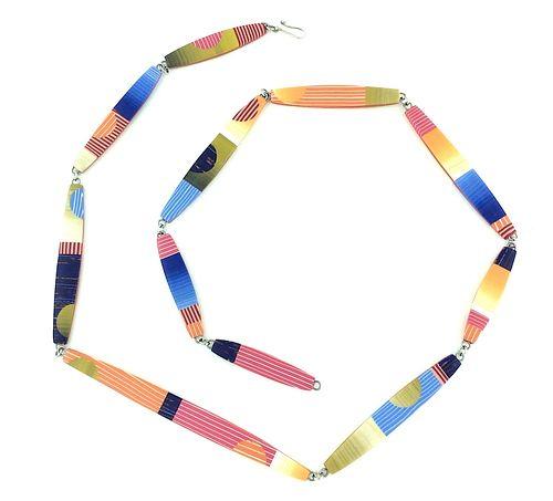 Long Bead Necklace -Mango