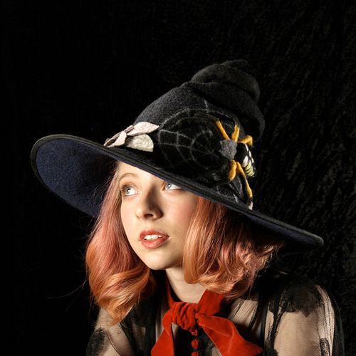 Writing Spider Witch or Wizard Hat