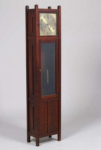 Lifetime Furniture Co Grandfather Clock c1910