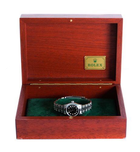 Ladies Rolex Datejust Watch w/Diamond Markers