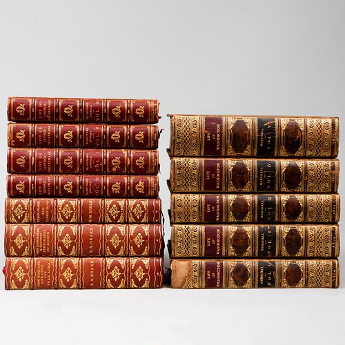 MARSHALL, John: The Life of George Washington; and JERROLD, Blanchard: Life of George Cruikshank