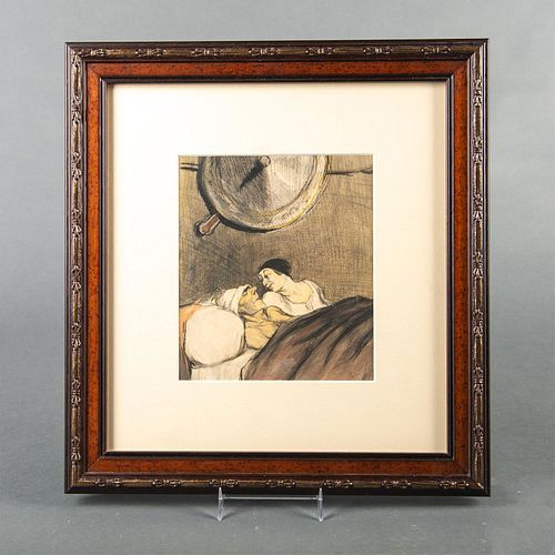 Honore Daumier Mixed Media Framed Art, Ulysses And Penelope