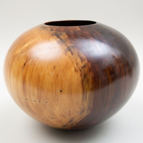 Philip Moulthrop Figured Tulipwood Bowl