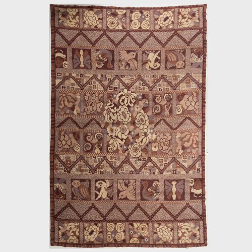 Art Deco Pile Carpet