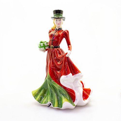 Christmas Day HN4899 - Royal Doulton Figurine