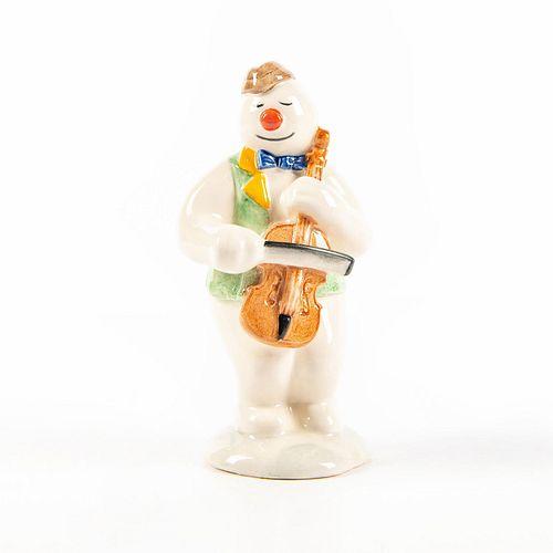 CELLIST SNOWMAN DS17 - Royal Doulton Figurine