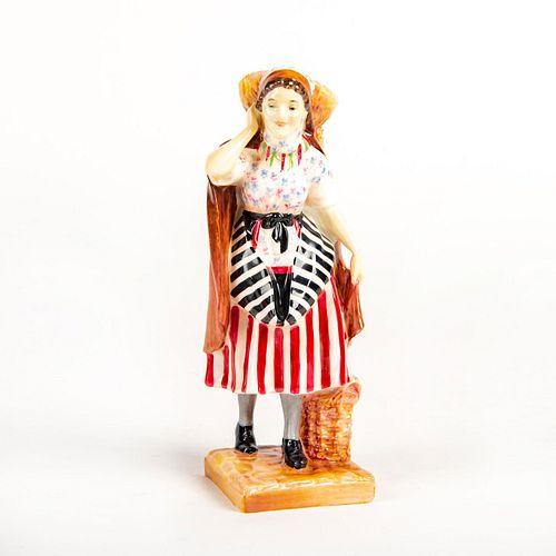 Royal Doulton Figurine, Newhaven Fishwife HN1480