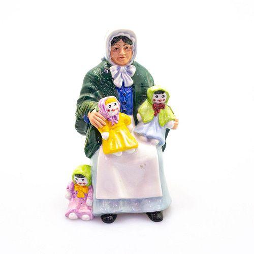 Rag Doll Seller HN2944 - Royal Doulton Figurine