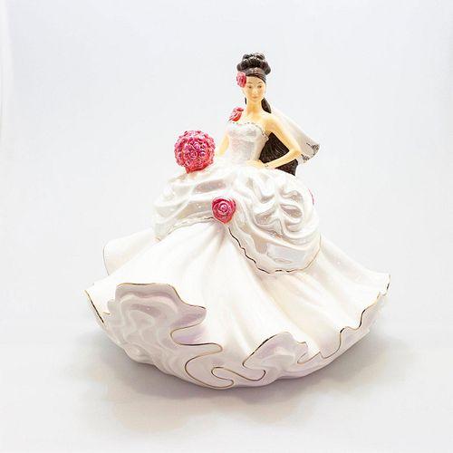 English Ladies Co. Porcelain Figurine, Gypsy Wedding Dreams
