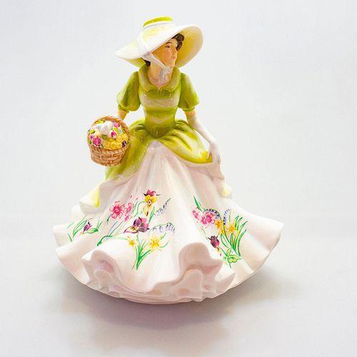 English Ladies Co. Porcelain Figurine, Spring's Promise