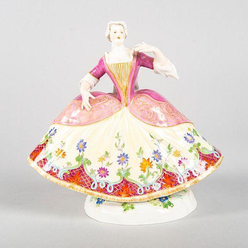Meissen Crinoline Figurine, Maria Josepha