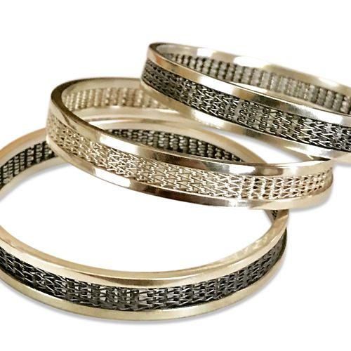 Woven Stacking Bracelets
