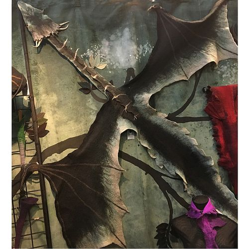 Dragon Wrap or Wall Hanging