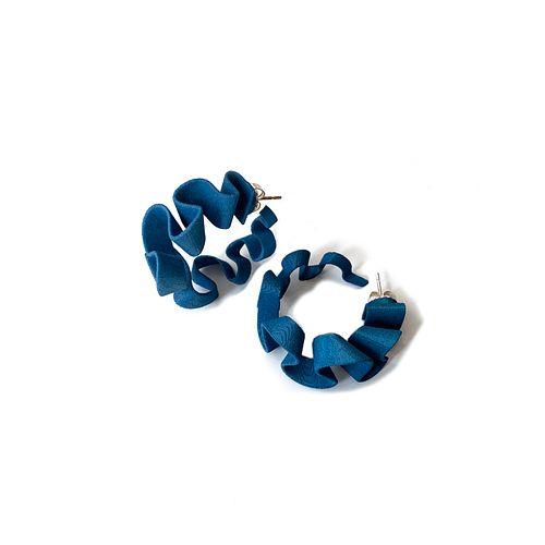 Ribbon Hoops - Blue