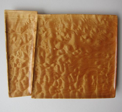 Quilted Maple Tray