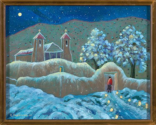 Ed Sandoval, Moon Over Santuario