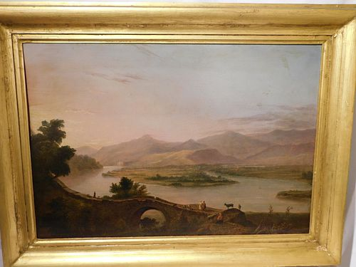 JAMES FAIRMAN - OIL PAINTING OF HOLY LAND