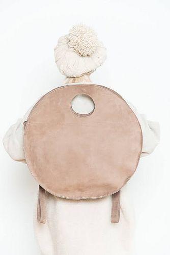Large Circle Backpack