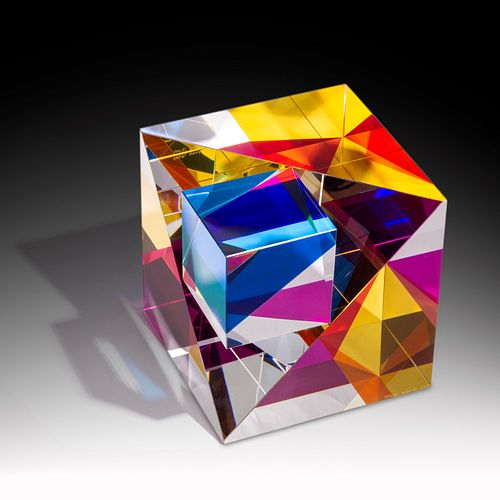 Pavel Novak Chimera Cold-Worked Glass