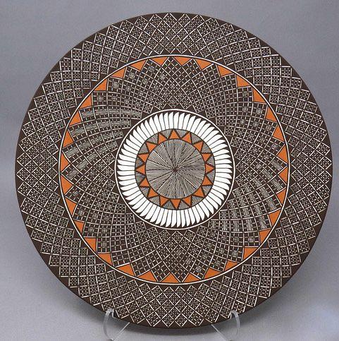 Amanda Lucario Feather Pattern Plate