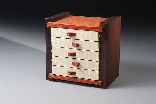 Ray Bock 5Haus2 Box with Drawers