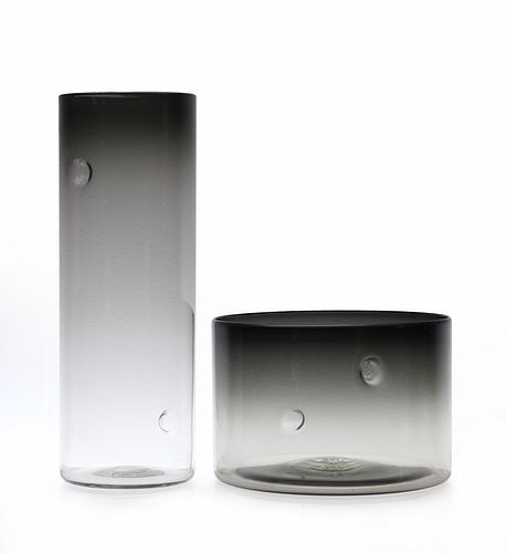 Dimple Series XL Tall Cylinder-Smoke