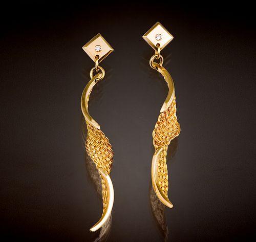 Spiral Twist Earrings